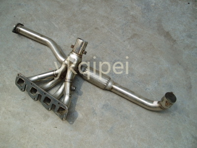 Racing header and manifold-CC11-ALTIMA