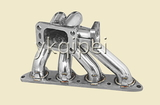 Racing header and manifold -G9-1-DSMBRT-46MM