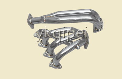 Racing header and manifold-QG18-D16-B