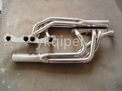 Racing header and manifold-QG4-Rocket Header-1