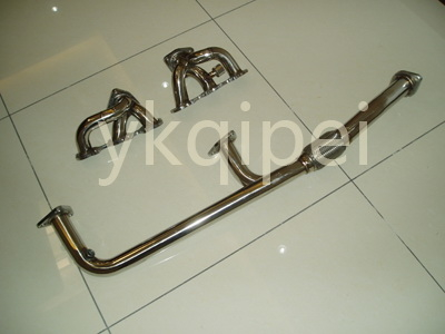 Racing header and manifold-G64