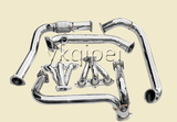 Racing header and manifold -G6A-AV6-TH