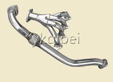 Racing header and manifold -CC9-ACCENT SOHC1.5L