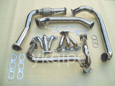 Racing header and manifold-G6A