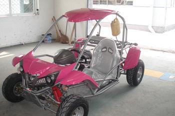 110cc go kart pink-RL110GK pink