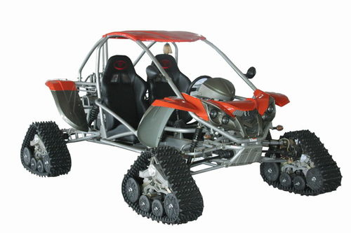 tracked snow buggy 500cc 800cc 1100cc 4X4-tracked snow buggy