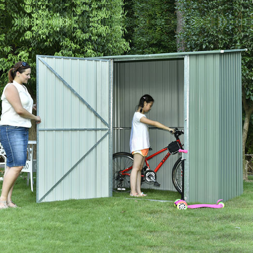 Swing door shed-F6