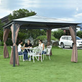 LUXURY ALU -GAZEBO