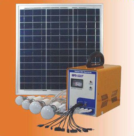 Dc Solar Power System-SPS-1217