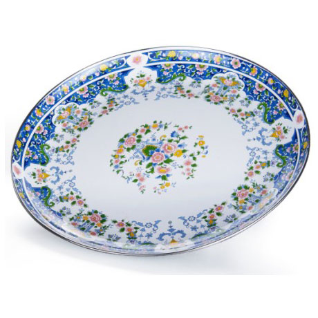 Blue and white porcelain fruit plate-SNT2G-3S-01