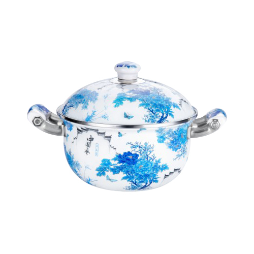 Chinese style blue and white porcelain pot stew-SNT2D-26-05