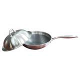 Stainless steel wok -1