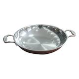 Three steel frying pan -1