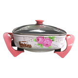 Korean multi-function electric side pot (flower)-1 -32