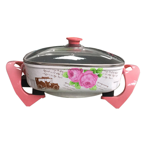 Korean multi-function electric side pot (flower)-1-32