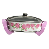 Korean multi-function electric side pot (flower)-2 -32