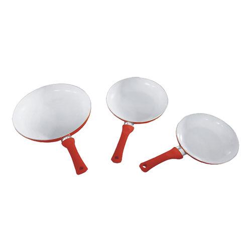 Aluminum Cookware(Ceramic Fry Pan set)-ACCS-3FSred