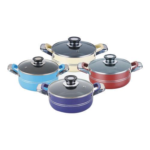Aluminum Cookware(Non-stick Merallic Series)-ANC20-36ML