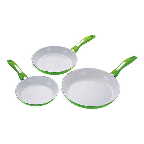 Aluminum Cookware(Ceramic Fry Pan set)-ACCS-3FS