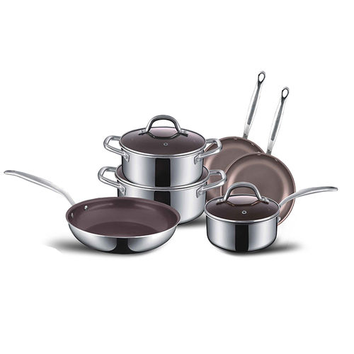 Forged Series-2-Ply S/S Cookware