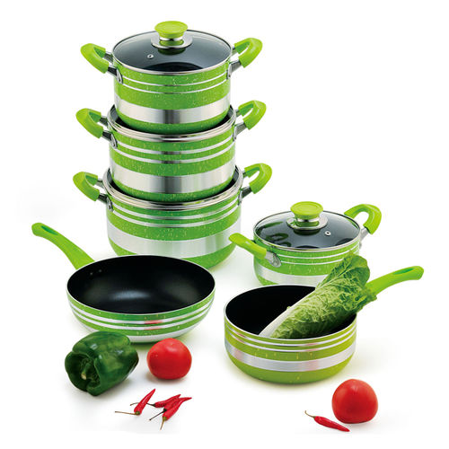 10PCS NON-STICK POT-YT-A008