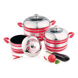 6PCS NON-STICK POT -YT-A042