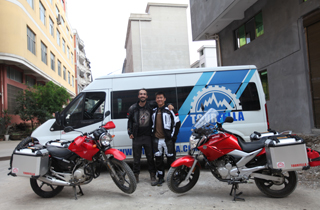 Tourfella Start An Exciting Tour for you.Two guys Two bike