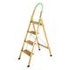 Golden Aluminium Ladder XC-6254-