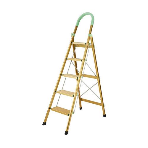 Aluminum D type local gold ladder XC-6255-