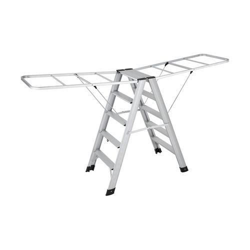 Aluminum wing type dual purpose ladder XC-YT016 (silver white)-