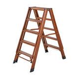 Aluminum wing type dual purpose ladder XC-YT016 (wood grain)