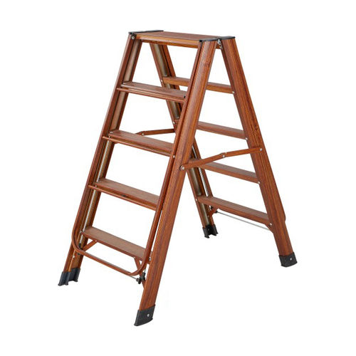 Aluminum wing type dual purpose ladder XC-YT016 (wood grain)-
