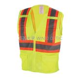 Mesh reflective vest -WK-M028