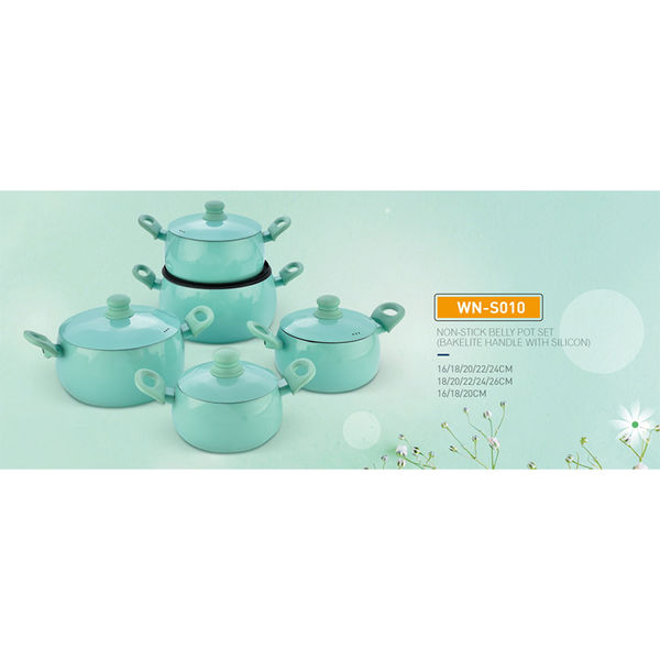 NON-STICK BELLY POT SET-WN-S010