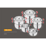 MIRROR POLISH COUSCOUS POT SET -WN-CF02