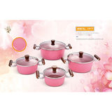 FORGED ALUMINIUM MARBLE COATING  COOKWARE -WNFAL-1917