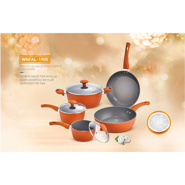 FORGED ALUMINIUM ICE-CRACK COOKWARE-WNFAL-1905