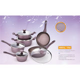 FORGED ALUMINIUM MARBLE COATING  COOKWARE -WNFAL-1904