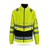 Hi-Vis Sately Raincoat -WK-J15