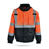 Hi-Vis Sately Raincoat -WK-J04