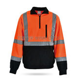 Hi-Vis Sately Raincoat -WK-J13