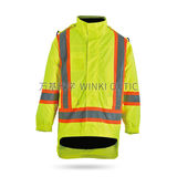 Hi-Vis Sately Raincoat -WK-J05