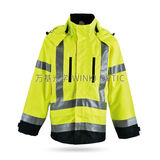 Hi-Vis Sately Raincoat -WK-J09