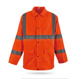 Hi-Vis Sately Raincoat -WK-J11