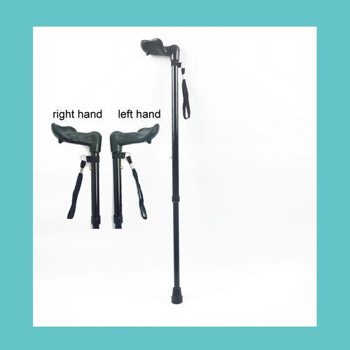 Left-handle Extendable walking stick ER-TQ200-ER-TQ200