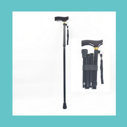 Wooden-handle Folding cane ER-TQ500-ER-TQ500