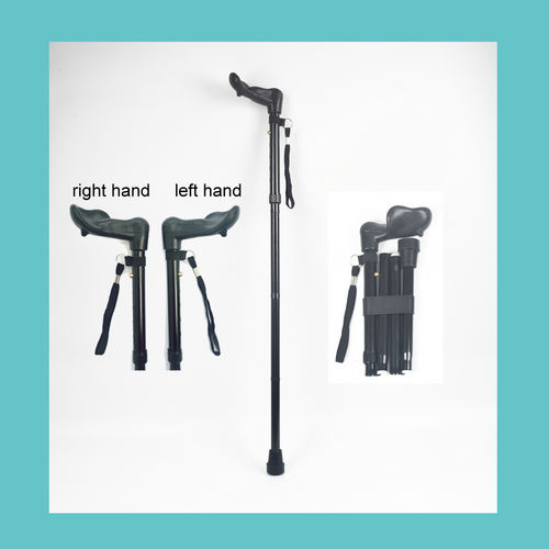 Right-handle Folding cane     ER-TQ500-ER-TQ500