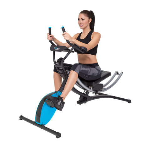 AB glider with exercise bike-PS-EB016