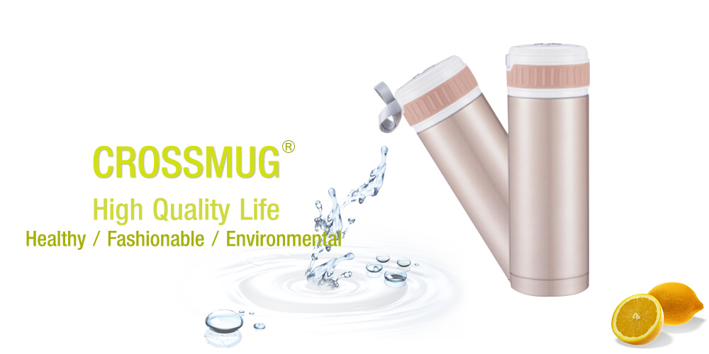 Crossmug High Quality Life Healthy / Fashionable / Environmental