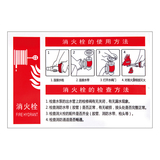 Fire safety signs -9-19